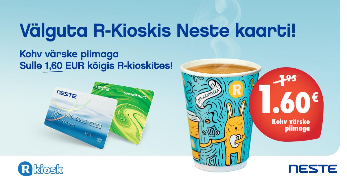 f82f6aa1f34 R-kiosk: soodustused Neste kaardiga! | Neste